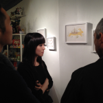 Andrea Kang discussing the inspiration behind Pretend Sleep to some of her fans