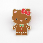 "Hello Kitty ""Gingerbread"" Collector's Pin"
