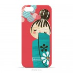 "Charuca ""Kokeshi Love"" iPhone Case"