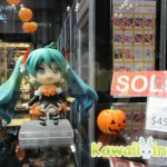 "Halloween version of Good Smile Company's ""Nendoroid Hatsune Miku"" figure that sold out at NYCC"