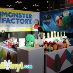 Monster Factory Booth at New York Comic Con 2014