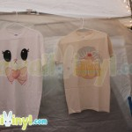 Super cute tees at the PammyCakes Boutique Booth at NYCC 2014