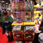Cute toy capsule machines & bento accessories at the Stuff Sushi booth