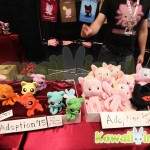 Tentacle Kitties looking to be adopted at their NYCC booth