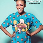 "The Simpsons x Hello Kitty ""Krusty Burger"" Unisex Tee by JapanLA Clothing Company"