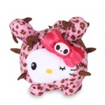 "Tokidoki for Hello Kitty Summer 2015 ""Safari Bean Doll - Pink Leo"""
