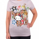 "Tokidoki for Hello Kitty Summer 2015 ""Safari Tee"""