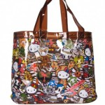 "Tokidoki for Hello Kitty Summer 2015 ""Safari Vinyl Tote"""