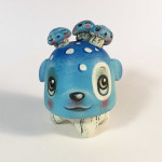 "64 Colors ""Mushroom Drop - Blue"" Custom Gumdrop"