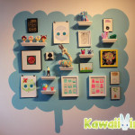 """Clutter Gallery's """"Cuteapocalypse"""" included tons of adorable original art and customs"""