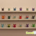 A rainbow of 3-inch Dunnies to choose from! Many have already sold