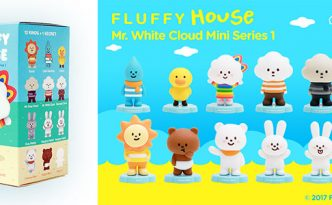 Fluffy House Mr. White Cloud Mini Series 1