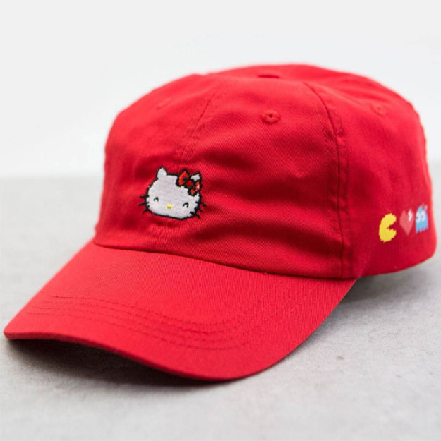 BAIT x Pac Man x Hello Kitty Hat