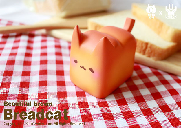 Rato Kim x Unbox Industries Breadcat