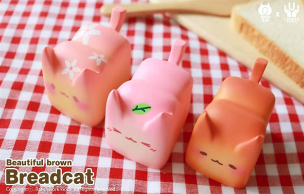 Rato Kim x Unbox Industries Breadcats