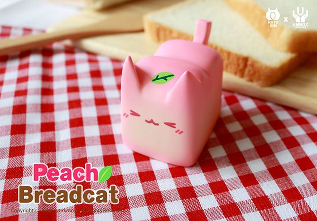 Rato Kim x Unbox Industries Peach Breadcat