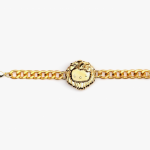 "Onch Moment x Hello Kitty ""Gold Plated Medallion"" Bracelet"