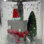 Comes with snow & its own little tree!