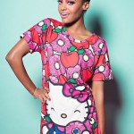 """The Simpsons x Hello Kitty """"Donuts & Apples"""" Reversible Boxy Tee by JapanLA Clothing Company"""