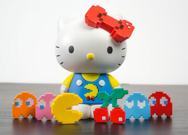 BAIT x Pac Man x Hello Kitty Collectible Toy